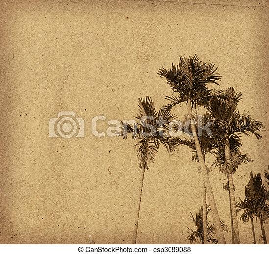 omodern, artistisk, landskap - csp3089088