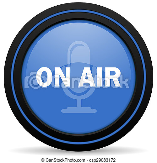on air icon - csp29083172