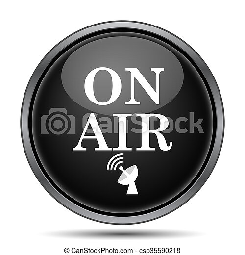 On air icon - csp35590218