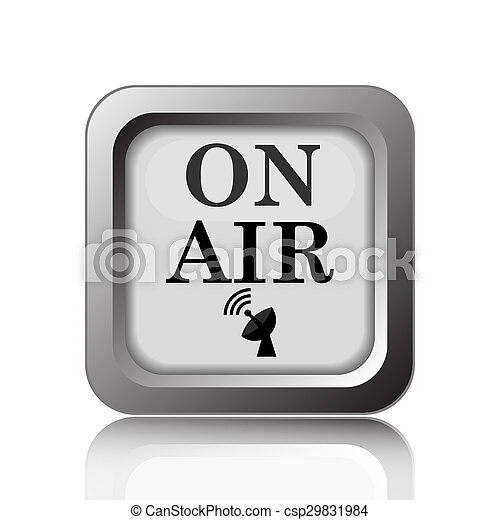 On air icon - csp29831984