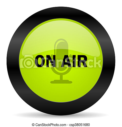 on air icon - csp38051680