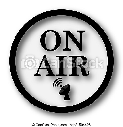 On air icon - csp31504428