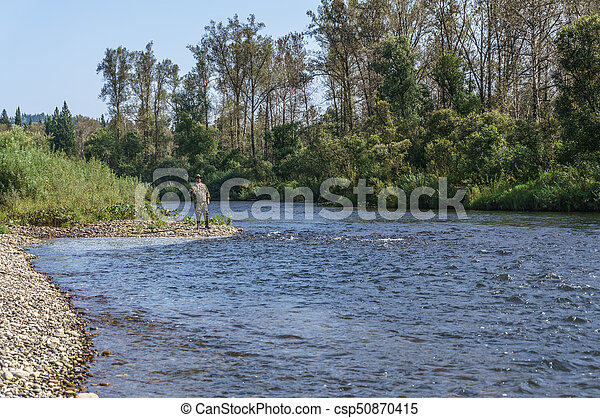 On fishing - csp50870415