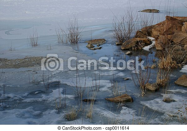 On Frozen Pond - csp0011614