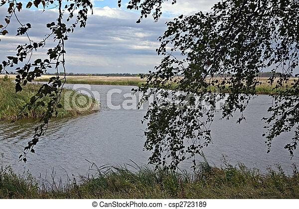 On lake - csp2723189