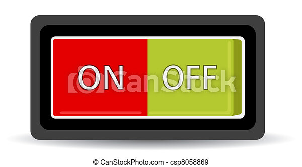 on off swith - csp8058869