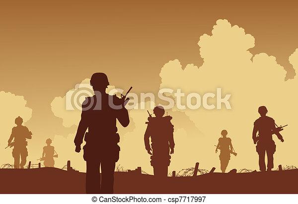 On patrol - csp7717997
