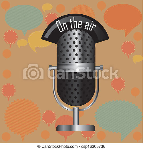 on the air - csp16305736