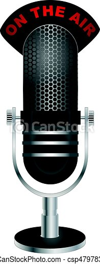 """On The Air"" Microphone - csp47978399"