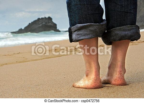 On the beach - csp0472756