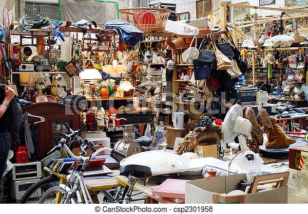 on the flea market - csp2301958