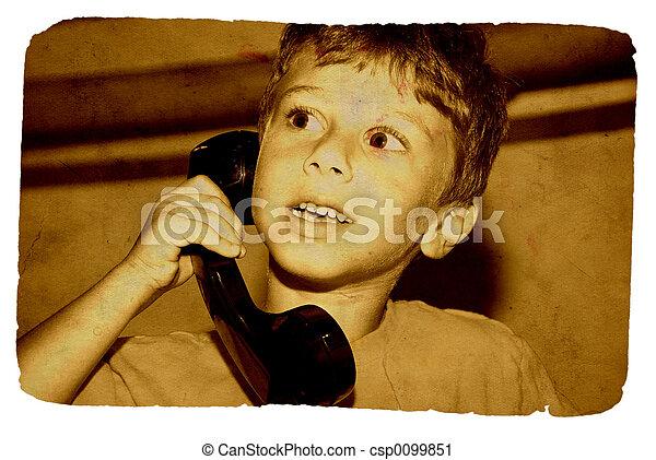 On The Phone - csp0099851