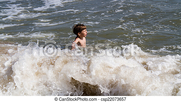 On the sea - csp22073657