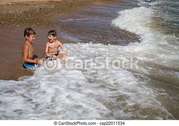 On the sea  - csp22011534