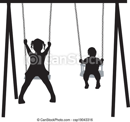 on the swing - csp19043316