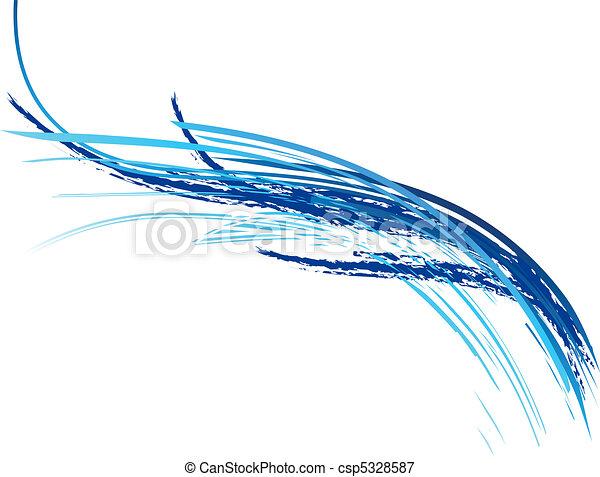 onda azul - csp5328587