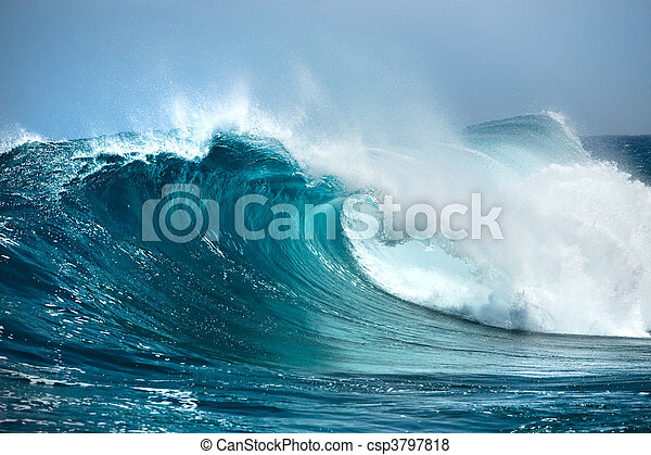 Ola del océano - csp3797818
