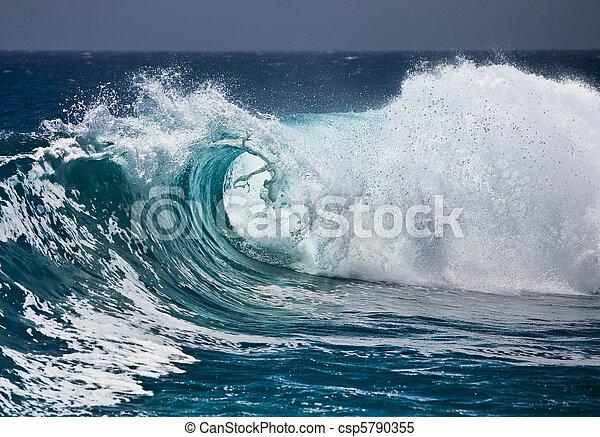 onda oceano - csp5790355