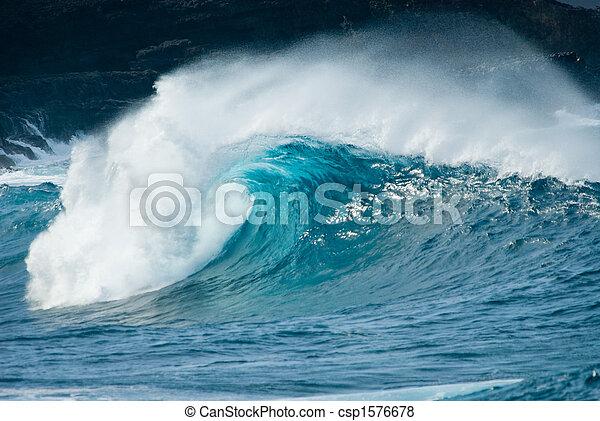 onda oceano - csp1576678