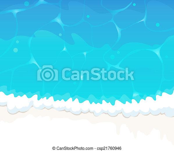 onda oceano - csp21760946