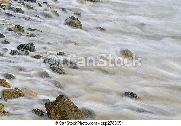 ondas, pedras - csp27850541