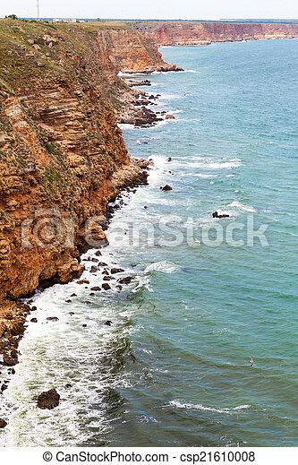 ondas, pedras - csp21610008