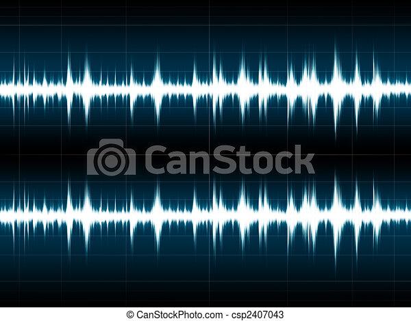 onde sonore - csp2407043