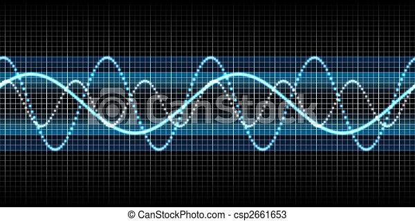 onde sonore - csp2661653