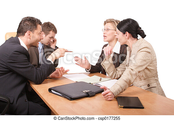 onderhandeling, zakelijk - csp0177255