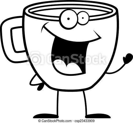 Café agitando - csp23433909
