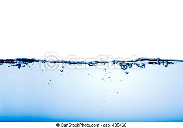 ondulación del agua - csp1435466