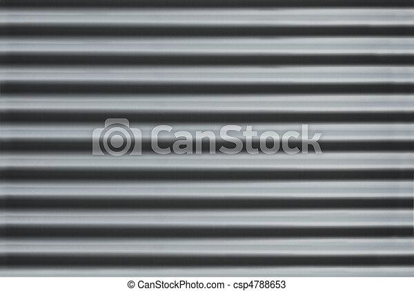 ondulato, metallo, struttura - csp4788653