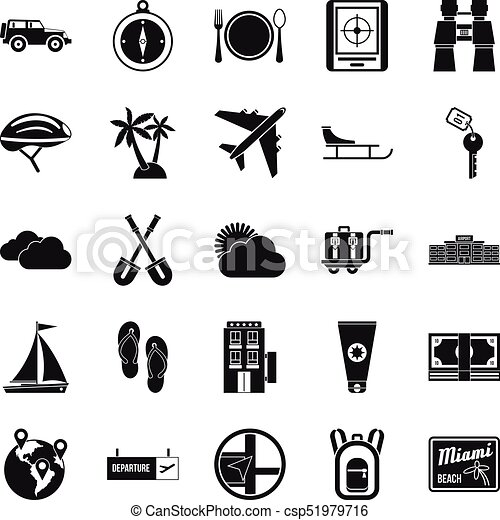 One direction icons set simple style one direction icons vector one direction icons set simple style csp51979716 voltagebd Choice Image