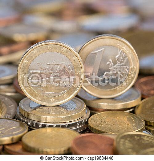 One Euro coin Finland - csp19834446