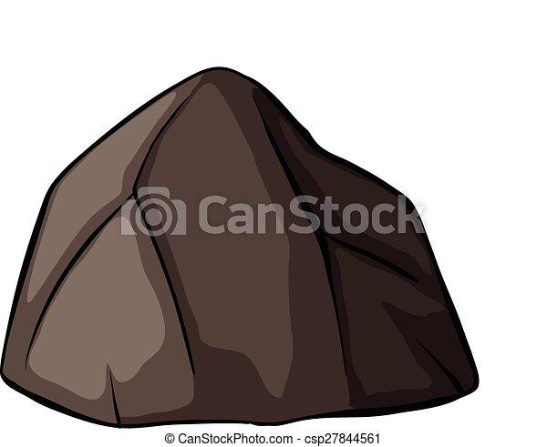 One grey rock - csp27844561