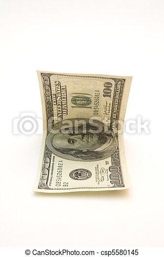 one hundred dollar bill - csp5580145