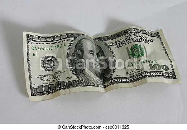 One Hundred Dollar - csp0011325