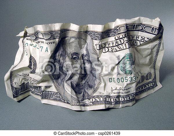 One Hundred Dollar - csp0261439