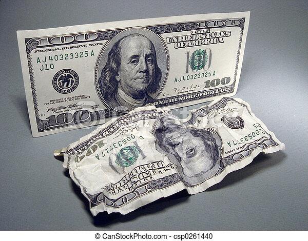 One Hundred Dollar - csp0261440