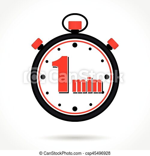 Illustration of one minute stopwatch on white background vector illustration of one minute stopwatch on white background vector illustration search clipart drawings and eps graphics images csp45496928 publicscrutiny Image collections