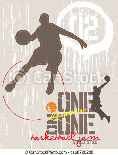 one on one basketball - csp8720288