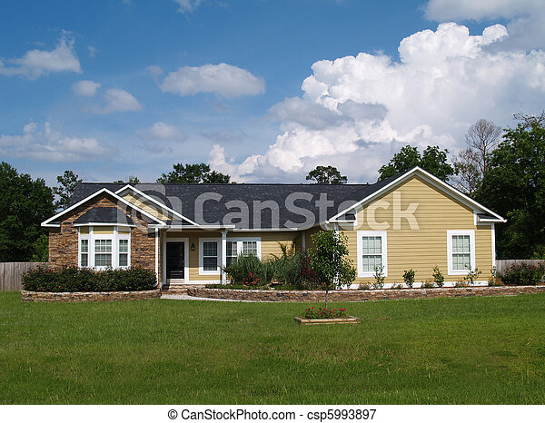 One Story Residential Home - csp5993897
