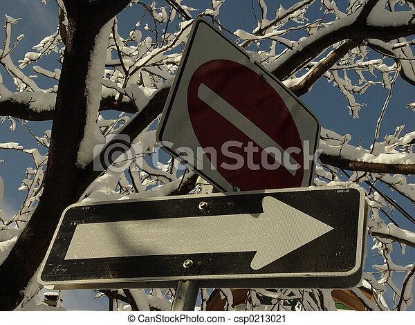 One way do not enter - csp0213021