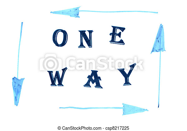 One way  - csp8217225