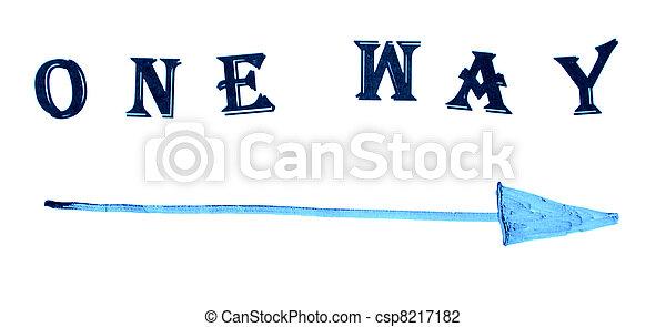 One way - csp8217182