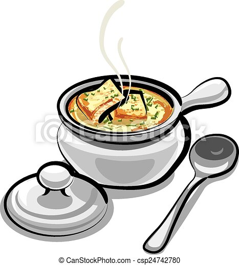 onion with soup - csp24742780