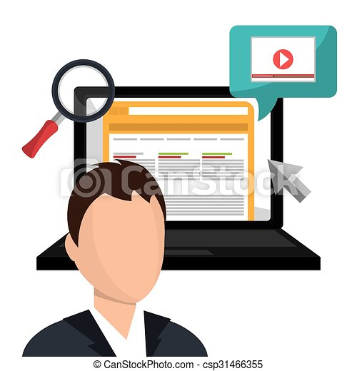 online advertising and digital marketing vector clipart vector rh canstockphoto co uk advertising clip art cd internet advertising clipart