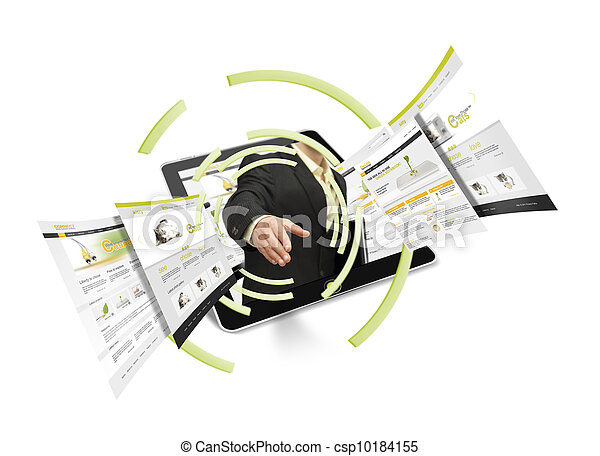 Online agreement - csp10184155