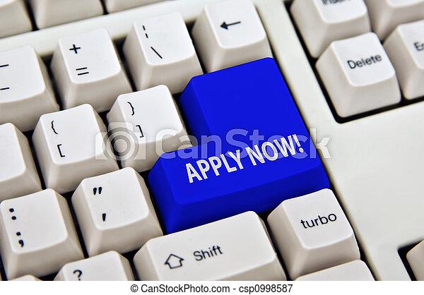online application - csp0998587
