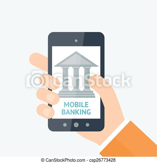 Online banking concept - csp26773428
